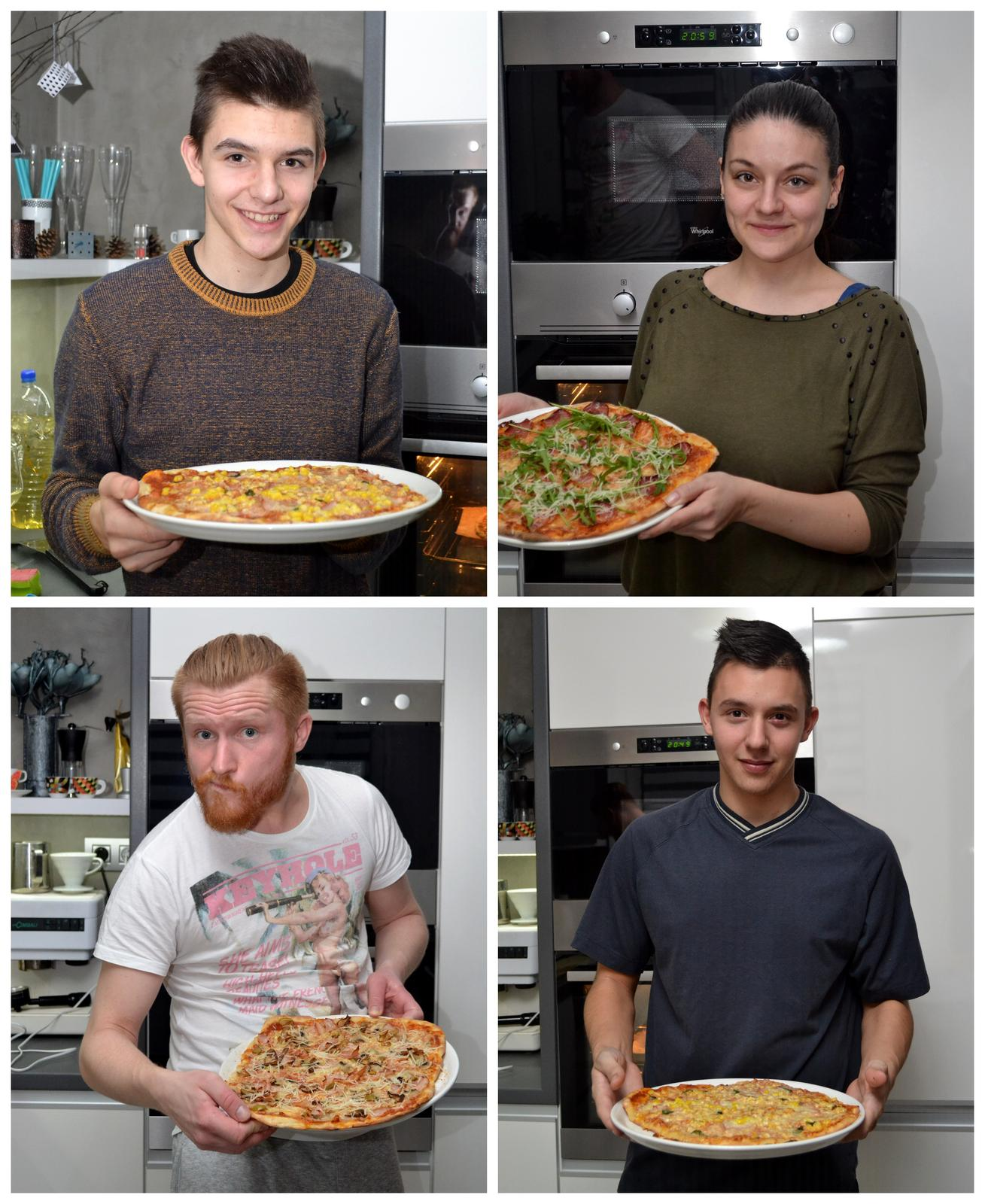 """Upečeno a uvařeno u nás doma - Víkend se synovci a """"udělej si sám"""" večeře :-)"""