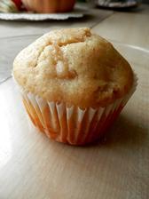 Jablečno-skořicové muffiny s mandlemi