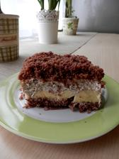 Krtkův dort na plech .. celkově měl 3 kg