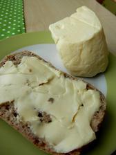 opravdové máslo z farmy