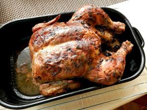 kuře s houbovou nádivkou pod kůží