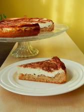 tvarohovo-skořicový dort