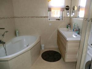 Pro leonaka  ještě nezabydlená koupelna, r. 2015
