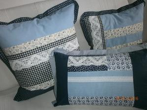inspiracia- chalupove vankusiky v modrom