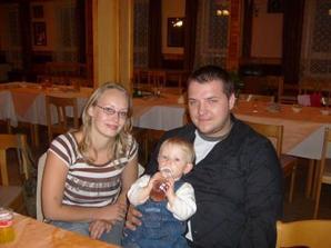 My tři...v červenci konečně kompletní rodinka...