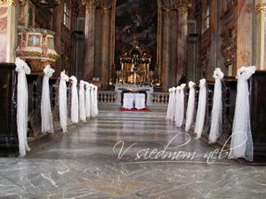 svadba bude v kostole