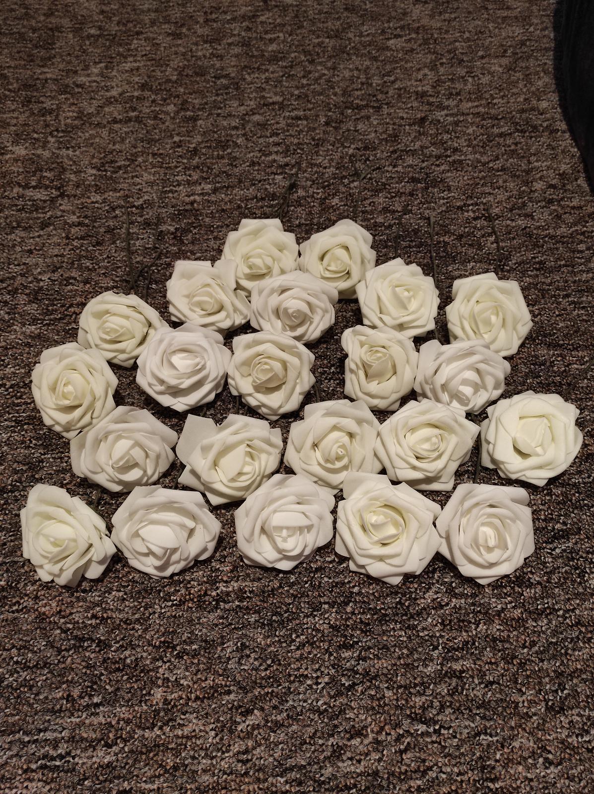 Penová ruža 8 cm - Obrázok č. 1