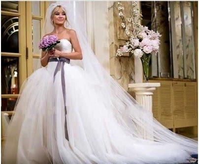 Nasa vysnivana svadbicka :) - Hned ked som zbadala tieto saty vo filme Brides War vedela som, že ich musim mat!!! :) samozrejme, budem si ich musiet dat usit