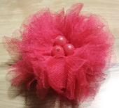 Brož Pink kytička,