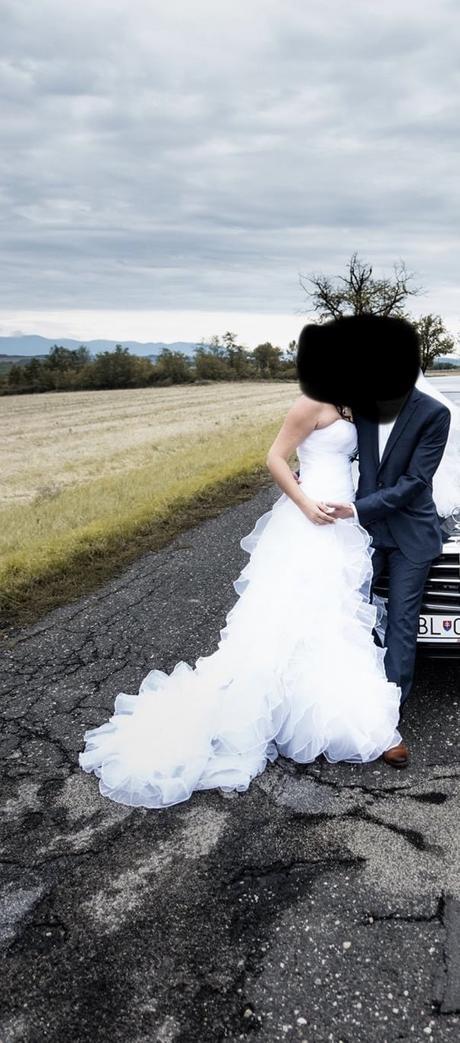 Svadobné šaty, veľkosť 36, 38, 40 - Obrázok č. 4