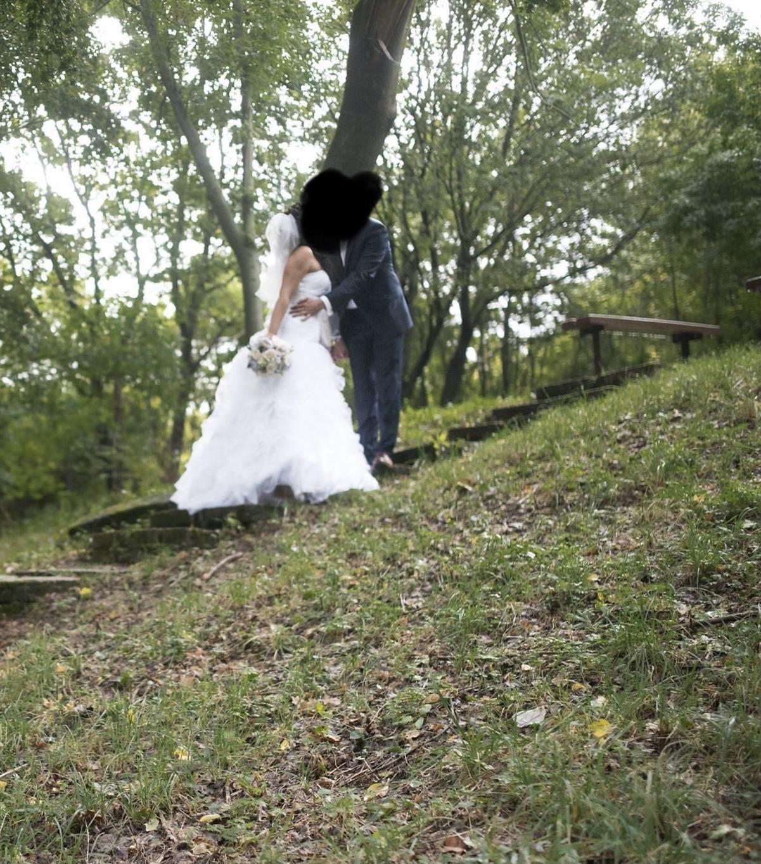 Svadobné šaty, veľkosť 36, 38, 40 - Obrázok č. 2