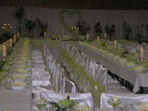 nase stolovanie.... vsetkym hostom sa velmi pacilo... tak sme mali dobrx pocit ze sme tu vyzdobu zvladli