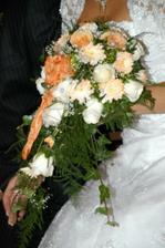 detail svadobnej kytice
