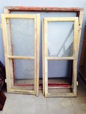 Staré okno před proměnou :)