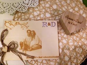 Svatební kniha a krabička na prstýnky :)