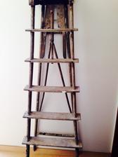 Staré dřevěné štafle :)