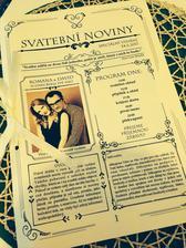 Svatební noviny pro pobavení :)