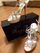 Svatební obuv Rose Scent ivory, 37