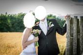 Svatební kravata s kapesníčkem,