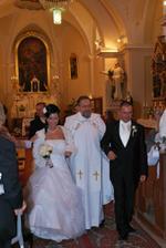 a tu sme už novomanželia:)