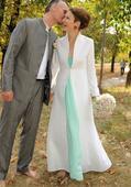 Svatební plášť pro chladnější dny, 36