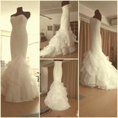 Svadobné šaty od návrháry JANKY GAVALCOVEJ, 38