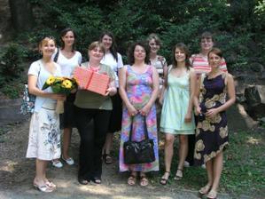 Kolegyně nevěsty - přišly se inspirovat :-)