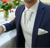 BANDI Pánská svatební vesta-set MACHIO 02 + košile, 40