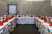 Jutové/korkové svatební dekorace ,