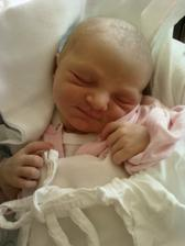 Laura narozena 7.7.2010