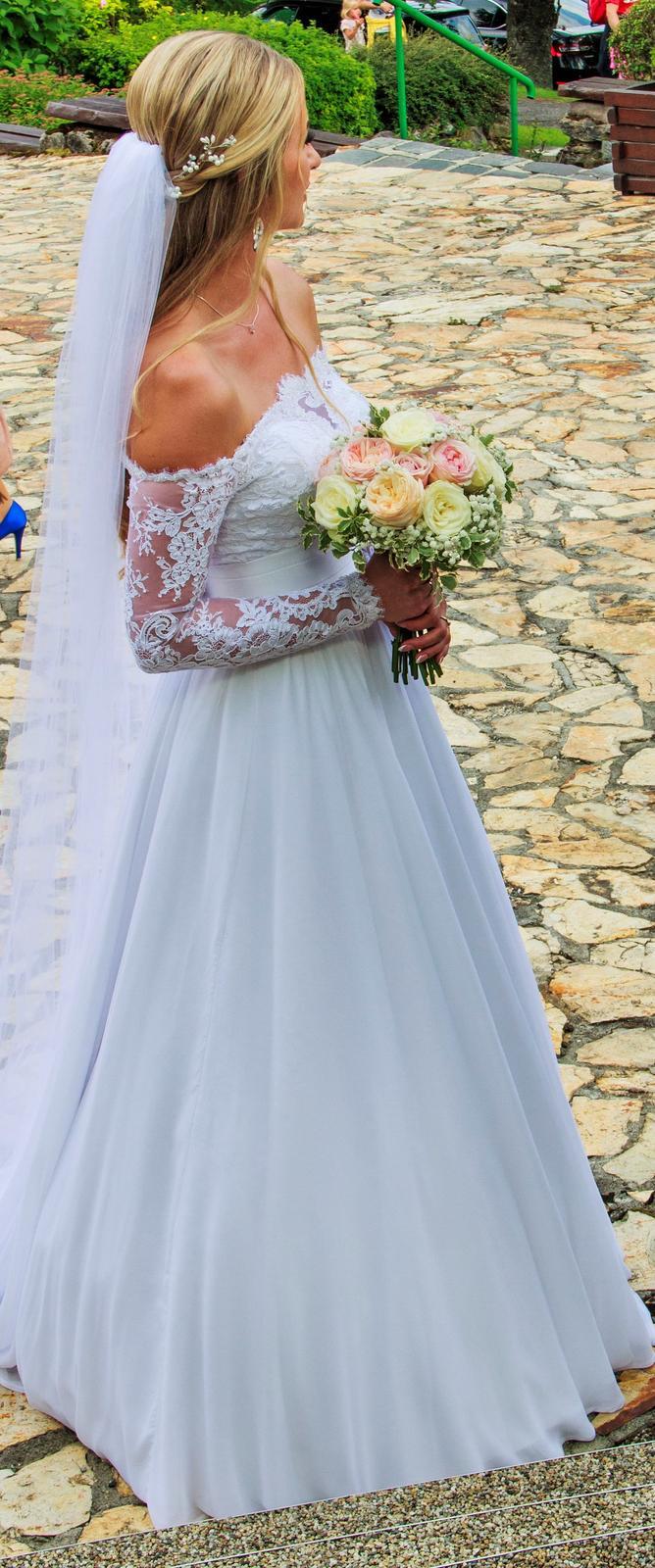 Svadobné šaty Irian Sam 34/36 - Obrázok č. 1