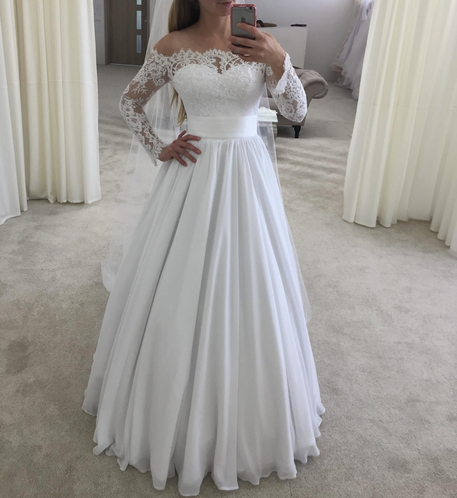Svadobné šaty Irian Sam 34/36 - Obrázok č. 2