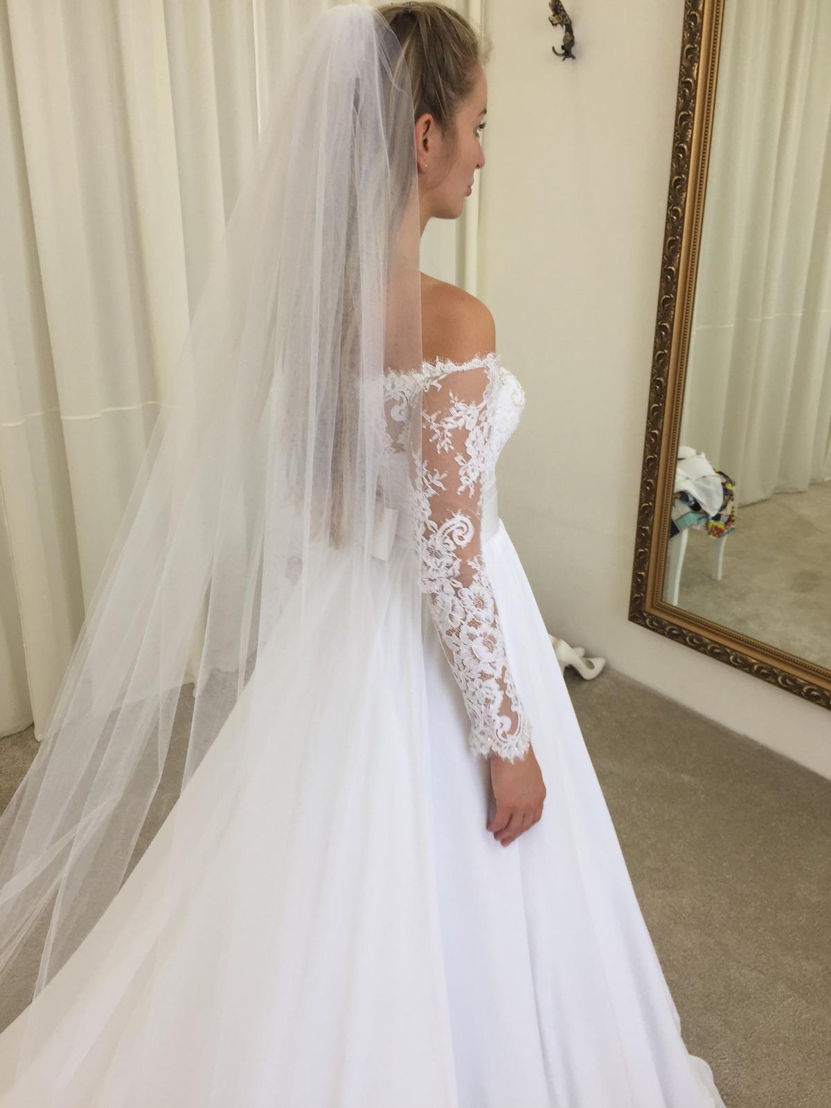 Svadobné šaty Irian Sam 34/36 - Obrázok č. 4