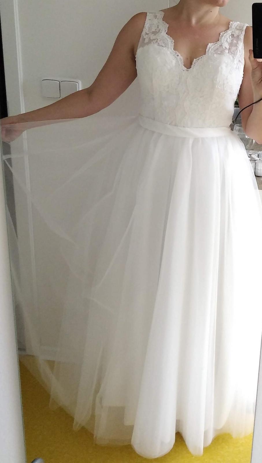 prodej svatebních šatů - nepoužité - Obrázek č. 1