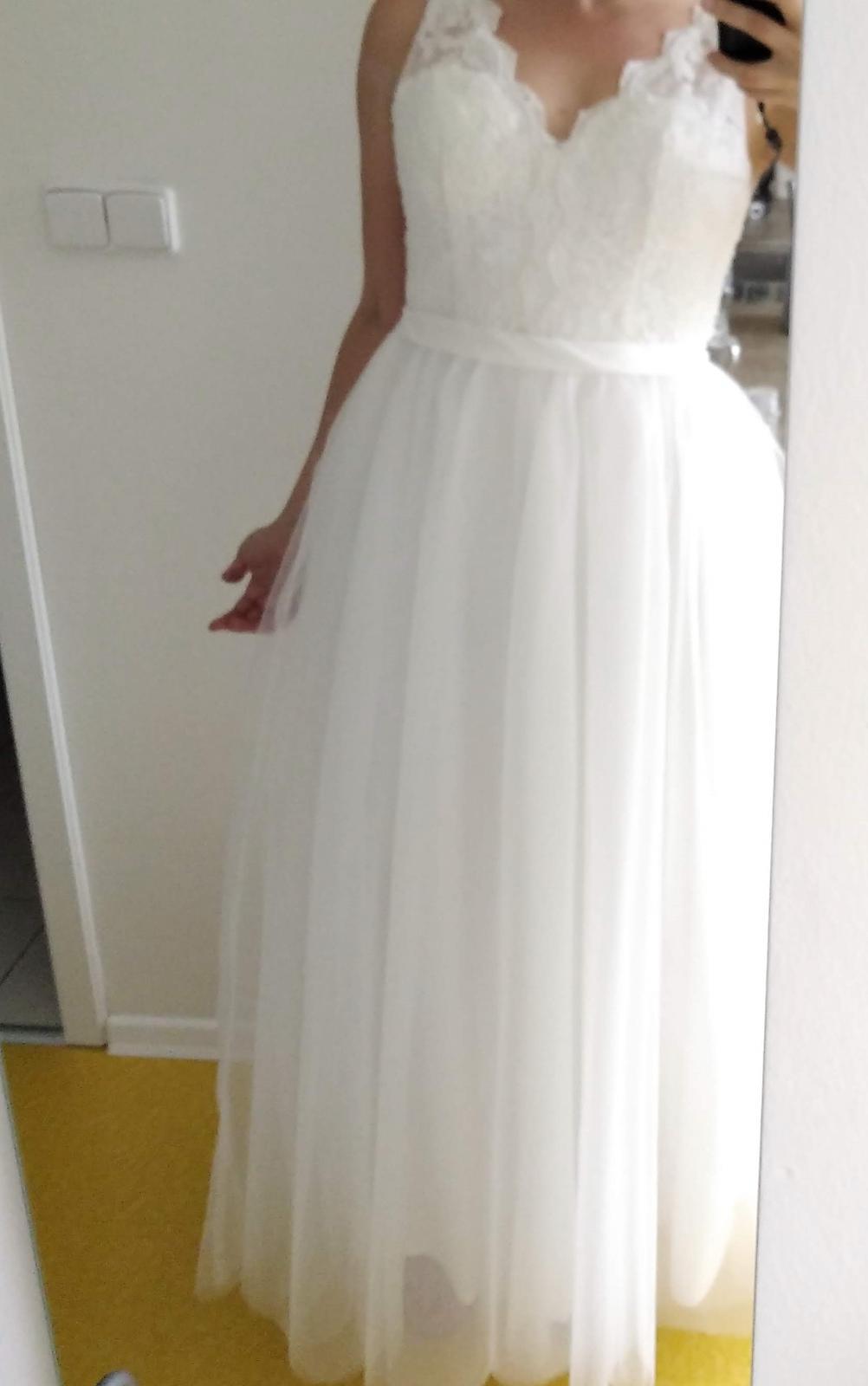 prodej svatebních šatů - nepoužité - Obrázek č. 2