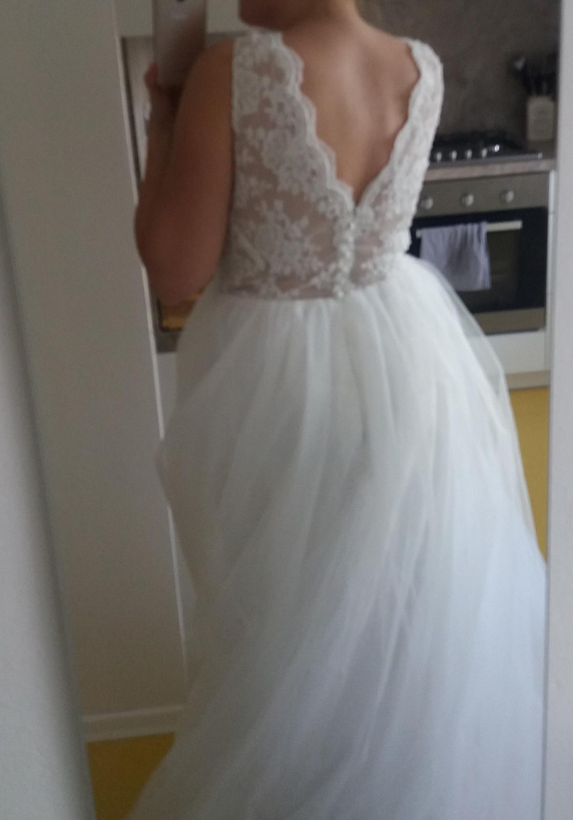 prodej svatebních šatů - nepoužité - Obrázek č. 3