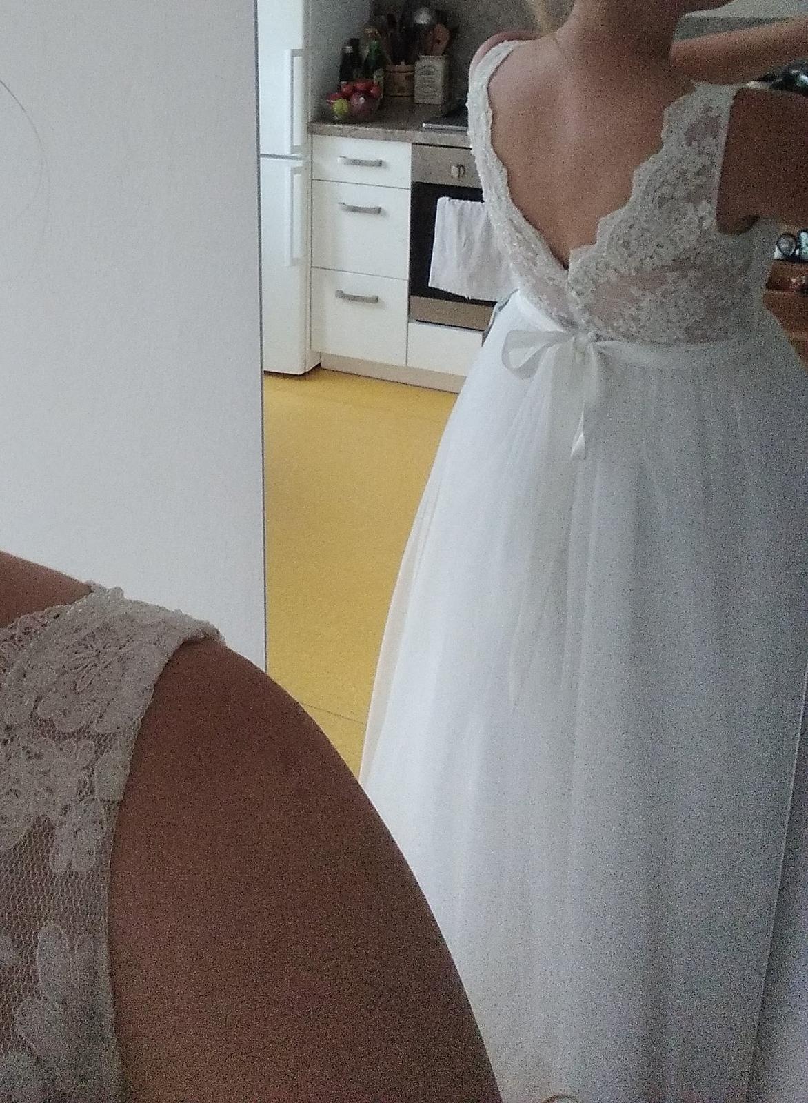 prodej svatebních šatů - nepoužité - Obrázek č. 4