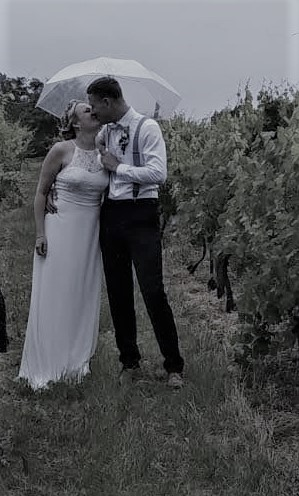 Svatební deštník průhledný - Obrázek č. 3