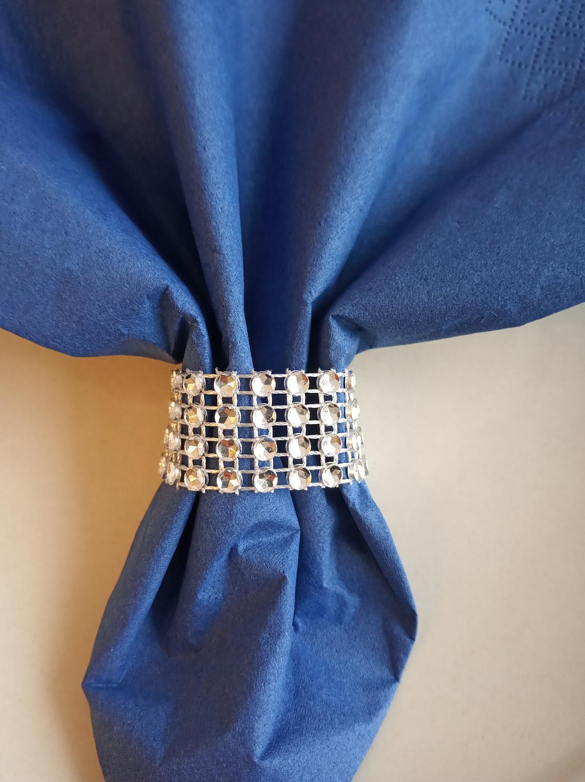 Strieborne prstene na servítky - Obrázok č. 2