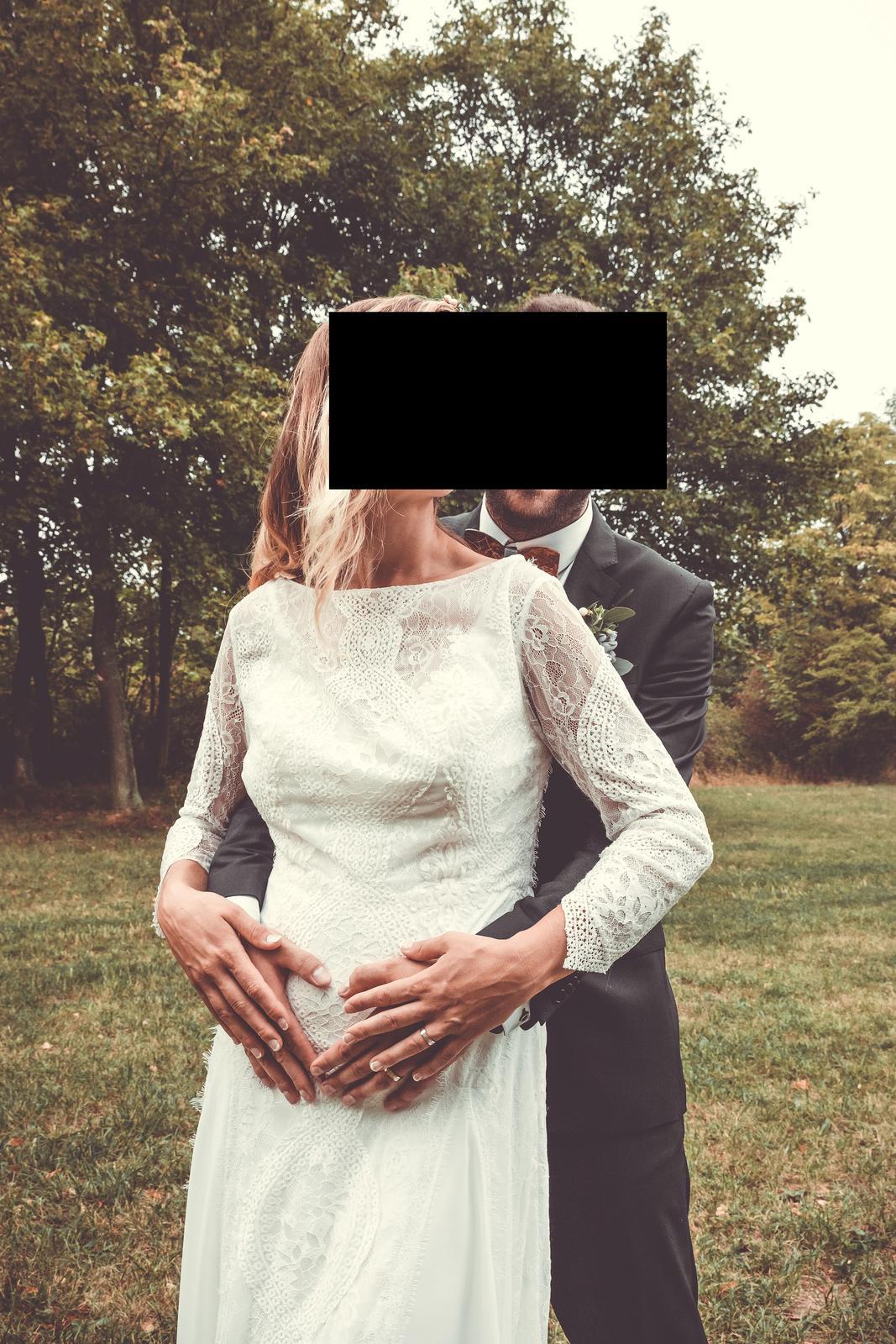 svatební šaty boho styl - Obrázek č. 2