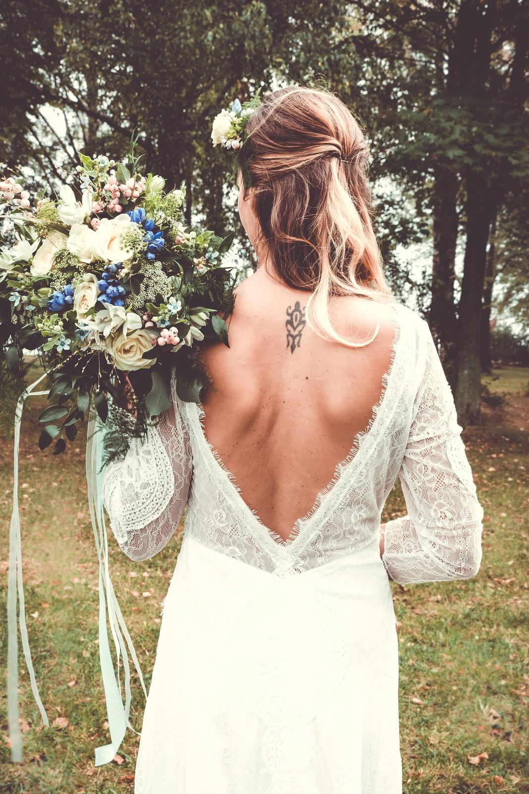 svatební šaty boho styl - Obrázek č. 3