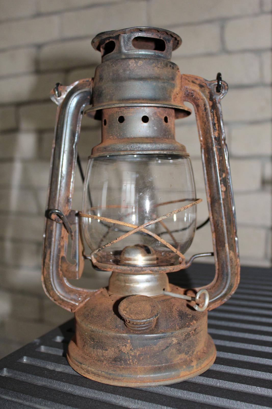 Petrolejová lampa - Obrázok č. 1