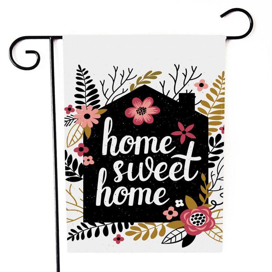 Záhradná vlajka Sweet home - Obrázok č. 1