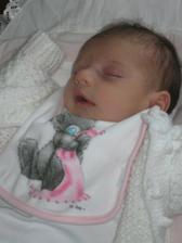 Naša láska Kamilka narodila sa nám 17.09.2010