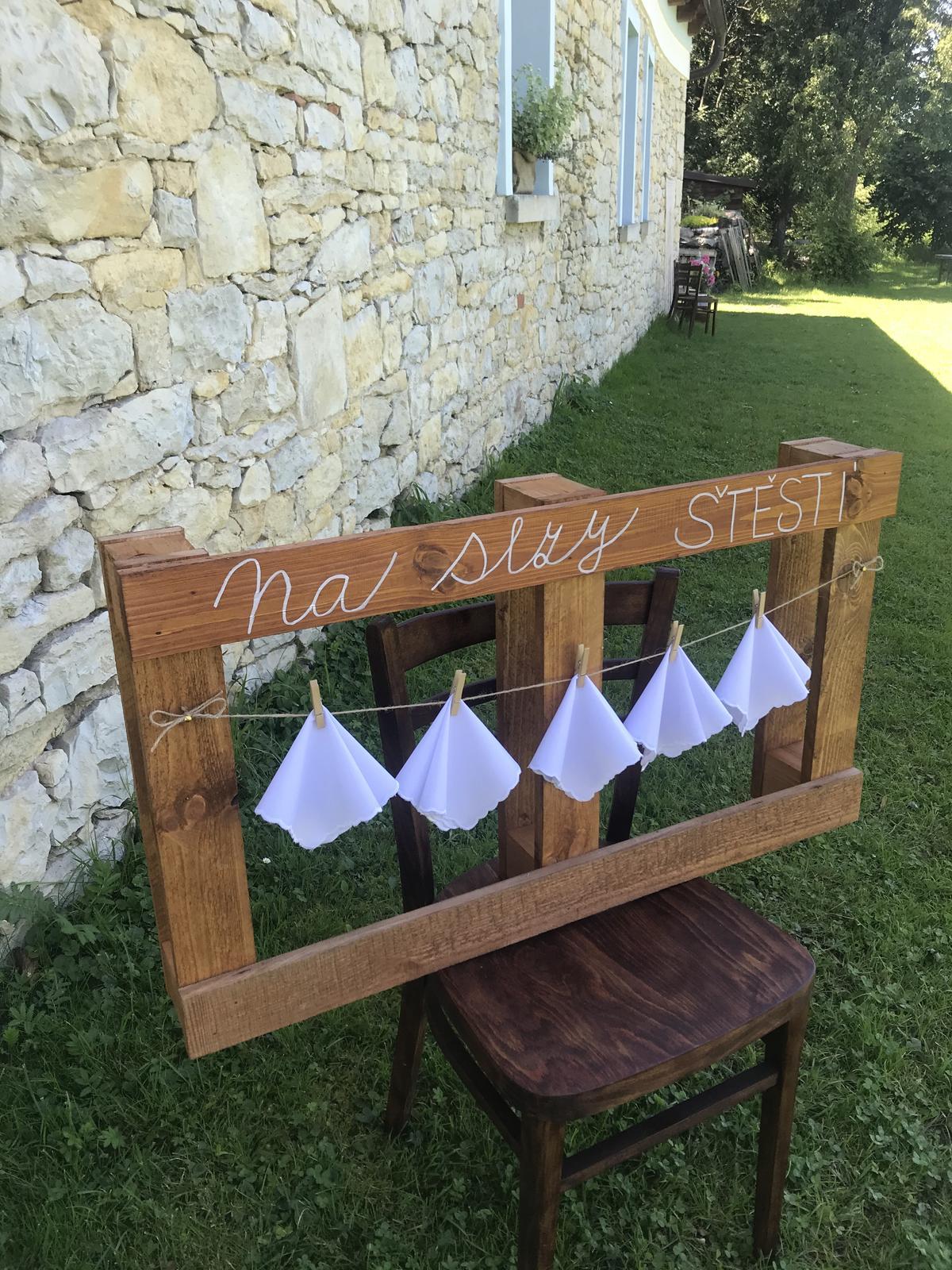 Svatební dekorace SET - Obrázek č. 1
