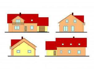 ...hrubý náčrt ...takhle by měl domeček vypadat až bude stát