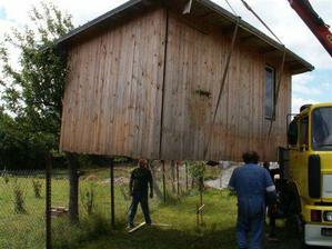 """stěhování boudy...naší """"dočasné základny"""""""