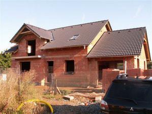 a tady už finální střecha...