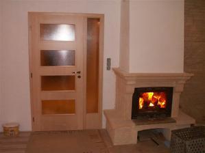 dveře v obýváku