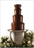 čokoládová fontána s belgickou čokoládkou už je doma :o)